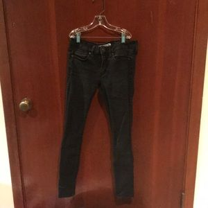 Black Super Skinny jeans Abercrombie and Fitch